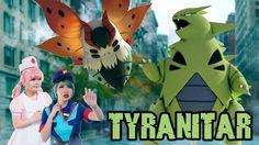 We made a live-action Godzilla parody trailer with Tyranitar and Volcarona!
