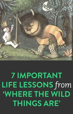 7 life lessons from 'Where The Wild Things Are'