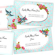 Business Cards - Free Pretty Things For You