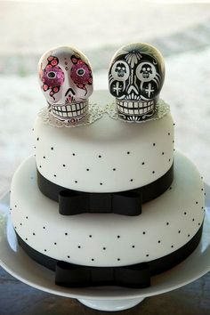 I'm not sure where they got these but what do you think of them as your cake topper?