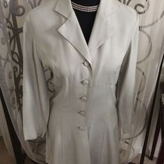 Sexy 5 Button Taupe Dress...Size Small
