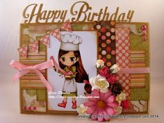 Birthday Cards For Women, Color Card, Hand Coloring, Happy Birthday, Paper Crafts, Create, Projects, Handmade, Design