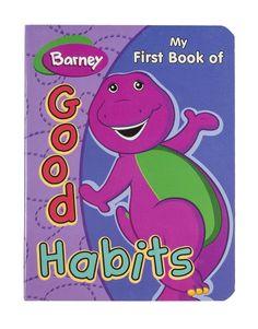 Barney Good Habits Book