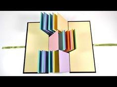 TUTORIAL: Flag Album | Scrapbooking | Mundo@Party - YouTube