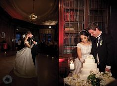 42 first dance and cake cutting in the library casa loma