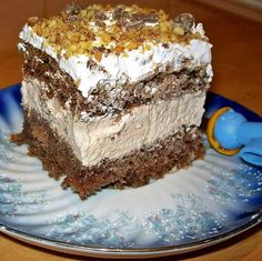 Turkish Recipes, Ethnic Recipes, Hungarian Cake, Mousse, Cake Recipes, Dessert Recipes, Romanian Food, Romanian Recipes, Food Cakes