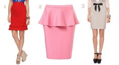 Professional Pencil Skirts: Perfect for pear and hourglass figures
