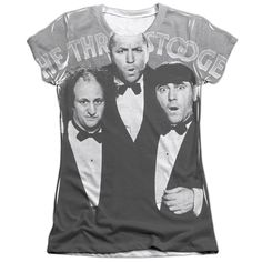 "Checkout our #LicensedGear products FREE SHIPPING + 10% OFF Coupon Code ""Official"" Three Stooges/classy Fellas -s/s Junior Poly/cotton T- Shirt - Three Stooges/classy Fellas -s/s Junior Poly/cotton T- Shirt - Price: $24.99. Buy now at https://officiallylicensedgear.com/three-stooges-classy-fellas-s-junior-poly-cotton-shirt-licensed"