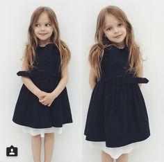 Anna Pavaga Young Models, Child Models, Little Fashion, Kids Fashion, Cute Girl Outfits, Kids Outfits, Anastasia Knyazeva, Anna Pavaga, Kristina Pimenova