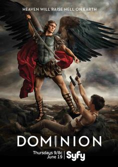 St Michael Archangel from the dominion tv series… Dominion Tv Series, Dominion Syfy, Angels Among Us, Angels And Demons, Male Angels, Vs Angels, Novena A San Miguel, St Michael Prayer, St. Michael