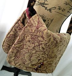 Fabric Messenger bag Crossbody Bag Shoulder bag Tapestry purse