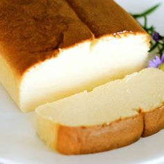 Super light, fluffy, melt in your mouth Japanese cheesecake!