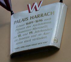 Palais (Palace) Harrach in Vienna Austria