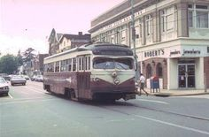 Philadelphia Suburban Trolley Car
