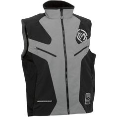 """MOOSE RACING 2014/15 EXPEDITION VEST.  High visibility reflective logos for increased visibility in low light conditions. Moose technically advanced windproof and water resistant nylon shell.  """"VISIT SITE"""" ABOVE FOR ALL INFO."""