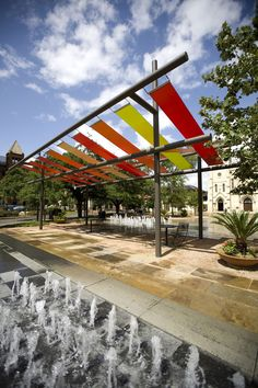 Main Plaza Shade Structures | Rios Clementi Hale Studios