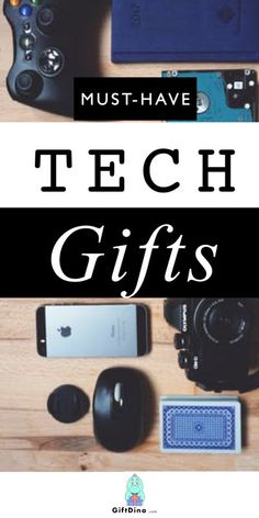 There's always another new tech toy that everyone wants. It can be difficult to keep up with what's trendy all the time. That's why we tried to help with this tech gift guide filled with the latest tech gadgets to explore. These tech toys are perfect for giving as gifts to that techy friend of yours or during the holiday season. | tech gifts for men | tech gifts for teenagers | tech gifts for dad | tech gifts for him | tech gifts for kids | tech gifts for teens | electronic gadgets | #giftguide Best Presents For Men, Tech Gifts For Dad, Best Gag Gifts, Cool Tech Gifts, Best Gifts For Him, Gifts For Teens, Creative Gifts, Tech Gadgets, Electronics Gadgets