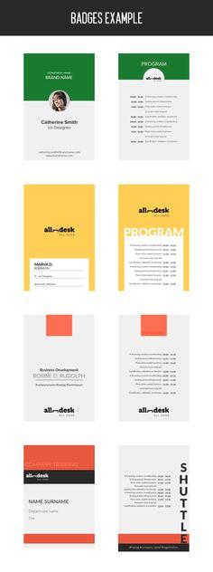 Badges  Example  Booklet  Design abea4ebd5