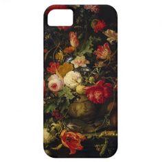 Elegant Vintage Floral Vase iPhone Case iPhone 5 Covers