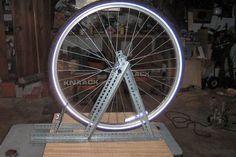 DIY Wheel tuning stand and dishing tool