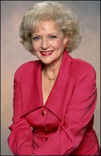 Betty White - Inspiration /•••• All types of TV appearances. She use to be an occasional guest on husband, Al's game show, Password. Lots of bit parts in lots of shows. The Golden Girls was, as far as I know her first real series.
