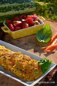 Placuszki z cukinii i marchewki