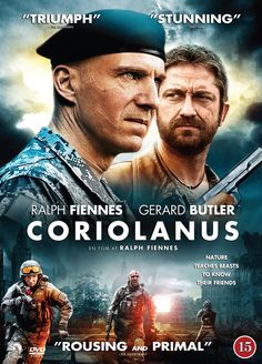 Coriolanus - Ralph Fiennes, Gerard Butler and Brian Cox Hd Movies, Movies To Watch, Movies And Tv Shows, Movie Tv, Movies Free, 2011 Movies, Movies Online, Ralph Fiennes, Gerard Butler