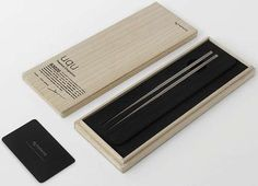 Featherlight Metal Utensils : Titanium Chopsticks
