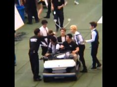 [Fancam] 140815 EXO Driving on Stage SM TOWN World Tour in Seoul