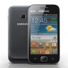 Samsung Galaxy Ace Duos S6802.  Android v2.3 (Gingerbread) OS 5 MP Primary Camera Smart Dual Active SIM (GSM + GSM) 832 MHz Processor Expandable Storage Capacity of 32 GB Wi-Fi Enabled 3.5-inch Capacitive Touchscreen FM Radio. Our Price Rs. 11,300