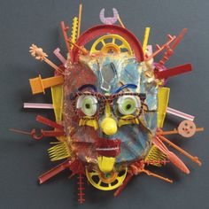 Big Sun Mask by Diane Kurzyna                                                                                                                                                                                 More
