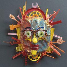 Big Sun Mask by Diane Kurzyna                                                                                                                                                                                 More