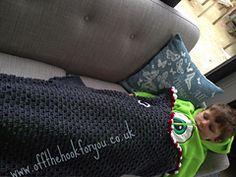 Ravelry: Shark blanket (boys mermaid tail) pattern by Vicki Roberts
