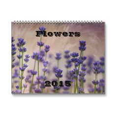 Flowers 2015 calendar