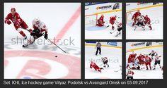 New set: #KHL #Ice #hockey #game #Vityaz #Podolsk vs #Avangard #Omsk on 03.09.2017