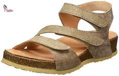 Think!  Yogeh, sac à bride femme - beige - Beige (Sand 38), 36 EU - Chaussures think (*Partner-Link)