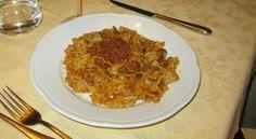 Here is my #mondaymotivation. The best  Italian #Pasta. Reginette with Cinta Senese #Ragout. #foodporn