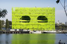 Euronews Headquarters; Lyon, France #HospitalityDesign #HospitalityDesignMagazine #hdmag #design #inspiration #France
