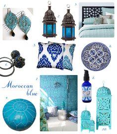 ~ Moroccan blue ~ so special...