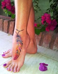 watercolor peacock feather tattoo - Google Search …