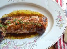 Muschiulet de porc simplu la cuptor