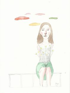 ( Watercolor Print  III )    17x23 cm     20€