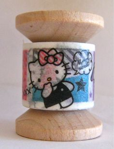 Hey, I found this really awesome Etsy listing at https://www.etsy.com/listing/187335882/washi-tape-mini-spool-single-hello-kitty