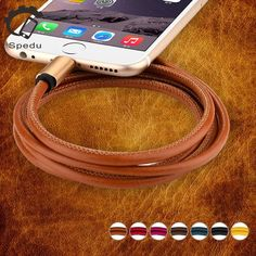 Genuine leather phone Charger USB