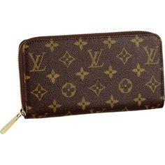 Louis Vuitton Zippy Wallet Monogram Canvas M60017