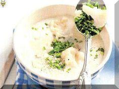 vcielkaisr-mojerecepty: Karfiolová polievka so syrom Cheeseburger Chowder, Soup, Ethnic Recipes, Soups