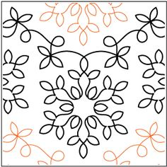 Winter Wonderland pantograph pattern by Patricia Ritter of Urban Elementz Quilting Stitch Patterns, Scrap Quilt Patterns, Machine Quilting Patterns, Quilt Stitching, Embroidery Patterns, Quilting Ideas, Quilting Projects, Quilting Stencils, Longarm Quilting