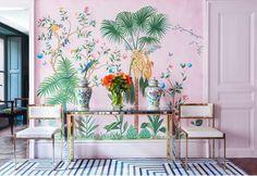Pink Jungle: a coleção incrível de Aquazzura para a DeGournay