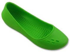 Rubber waterproof flats for garden shoes