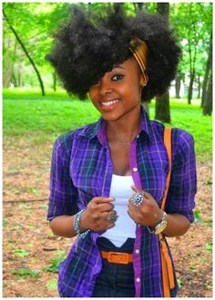 Rock That Fro! - http://www.blackhairinformation.com/community/community-pictures/rock-fro/ #naturalhairstyles